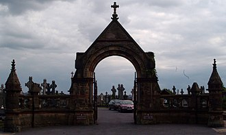 Milltown Cemetery - The entrance to Milltown Cemetery: 546 Falls Road