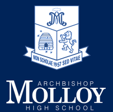 Archbishop Molloy High School logo