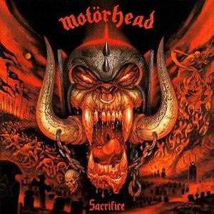 Sacrifice (Motörhead album) - Image: Motörhead Sacrifice (1995)