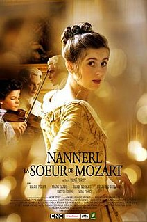 <i>Mozarts Sister</i> 2010 French drama film directed by René Féret