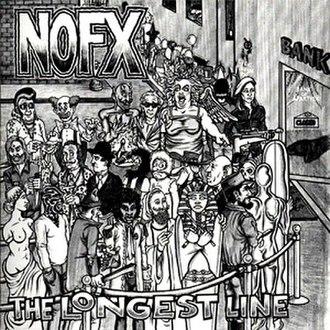 The Longest Line - Image: NOFX The Longest Line cover