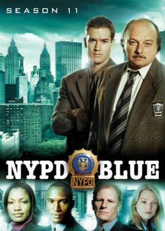NYPD Blue (season 11) - Season 11 U.S. DVD Cover