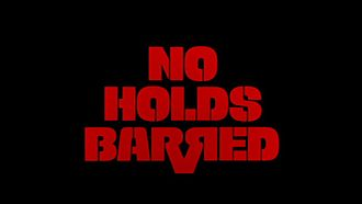 No Holds Barred (1989 film) - Image: No Holds Barred 1989
