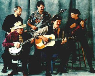 Northern Lights (bluegrass band) - Northern Lights band 1996. L-R Taylor Armerding, Mike Kropp, Jeff Horton, Bill Henry, Jake Armerding