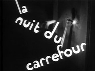 Night at the Crossroads - Title card from the film