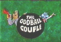Title card for DePatie-Freleng's The Oddball Couple.