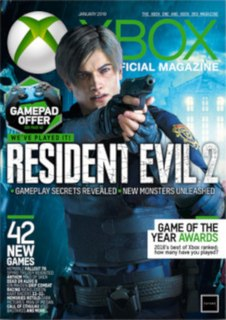 <i>Official Xbox Magazine</i> monthly video game magazine