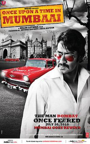 Once Upon a Time in Mumbaai - Theatrical release poster