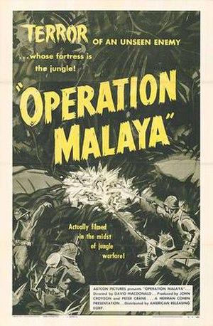 Operation Malaya (film) - Image: Opmalayapos