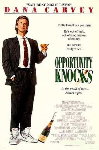 Opportunity Knocks (film) - Promotional movie poster for the film