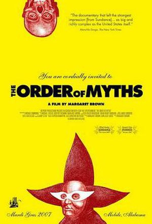 The Order of Myths - Theatrical release poster