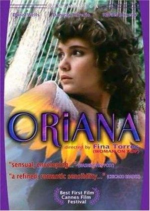 Oriana (film) - Film poster