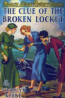 <i>The Clue of the Broken Locket</i>