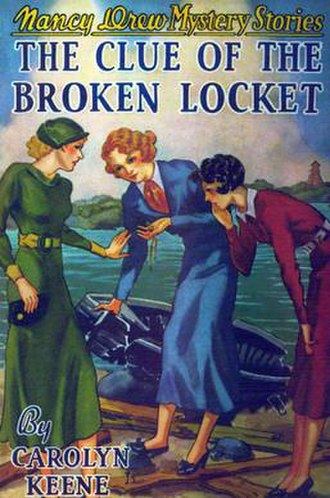 The Clue of the Broken Locket - Original edition cover