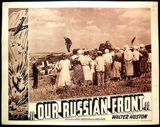 Our Russian Front - Lobby card