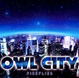 Fireflies (Owl City song) - Image: Owlcity fireflies cover
