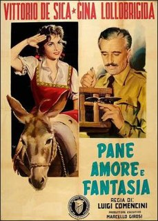 <i>Bread, Love and Dreams</i> 1953 Italian film directed by Luigi Comencini