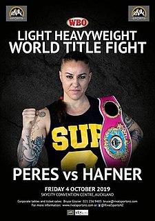 Geovana Peres vs. Claire Hafner