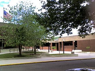 Perth Amboy High School - Image: Perth Amboy HS side