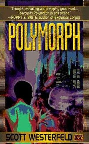 Polymorph (novel) - Image: Polymorph (Scott Westerfeld novel cover art)