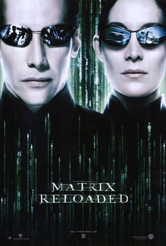The Matrix Reloaded - Theatrical release poster