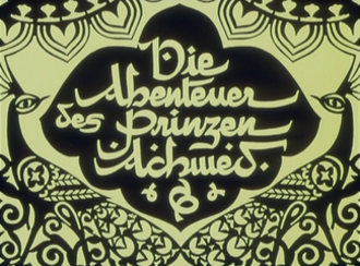 The Adventures of Prince Achmed - Title card
