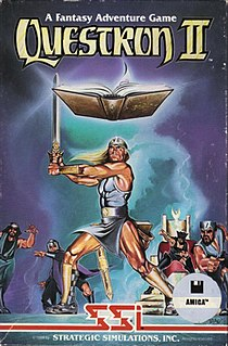 <i>Questron II</i> 1988 video game