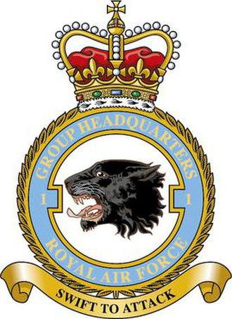 No. 1 Group RAF - No. 1 Group badge