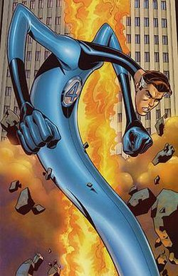 Mr. Fantastic Superheroes in Marvel Comic Superhero
