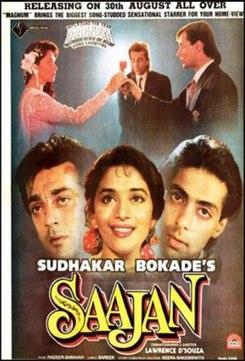 <i>Saajan</i> 1991 film by Lawrence DSouza