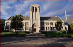 Sigma Alpha Epsilon - The Levere Memorial Temple in Evanston, IL.