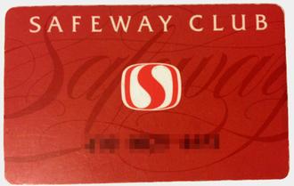 Safeway (Canada) - Club Card used by Canada Safeway.