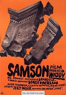 <i>Samson</i> (1961 Polish film) 1961 film by Andrzej Wajda