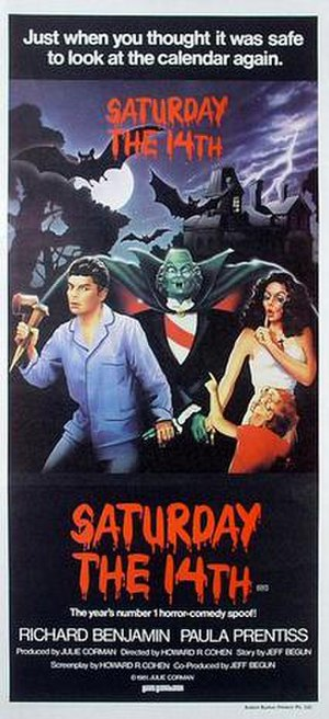 Saturday the 14th - Theatrical poster