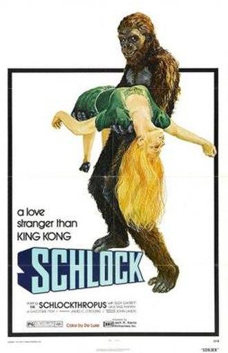 Schlock (film) - Film poster