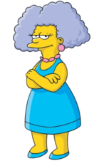 patty bart Simpsons and selma
