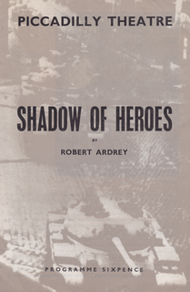 <i>Shadow of Heroes</i> 1961 film by William Sterling