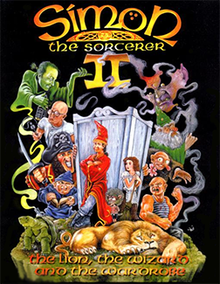 Simon the Sorcerer II - The Lion, the Wizard and the Wardrobe Coverart.png