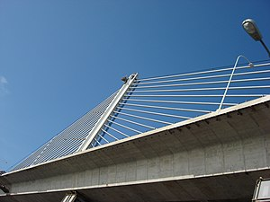 Veterans' Glass City Skyway - Image: Skywaybridge 2