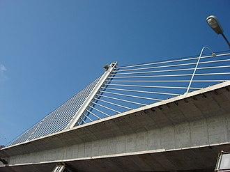 Veterans' Glass City Skyway - Image: Skywaybridge 2