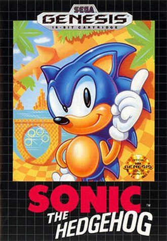 Sonic the Hedgehog (1991 video game) - Image: Sonic the Hedgehog 1 Genesis box art