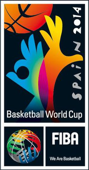 2014 FIBA Basketball World Cup - Image: Spain 2014 FIBA Basketball World Cup logo