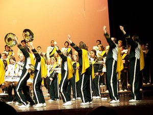 Mustang Band - Image: Specialdrill