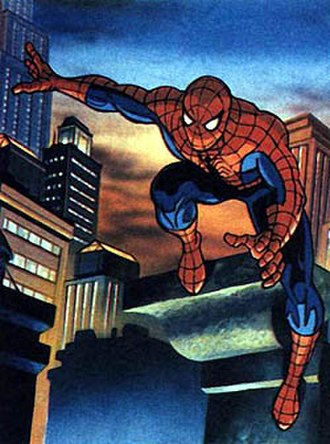 Spider-Man in other media - Image: Spider Man 1994 concept art