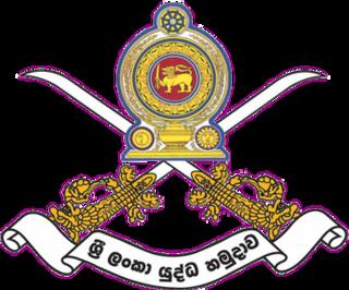 Sri Lanka Army Ground forces of the Sri Lankan military