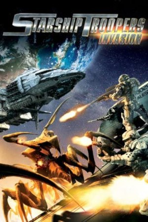 Starship Troopers: Invasion - DVD cover