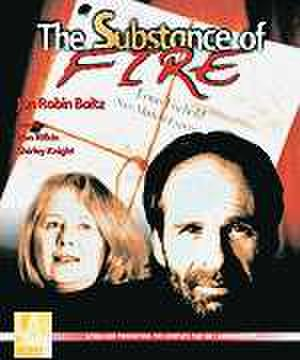 The Substance of Fire - Cover from the L.A. Theatre Works audiocassette with Ron Rifkin and Shirley Knight