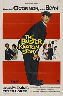 <i>The Buster Keaton Story</i> 1957 film by Sidney Sheldon