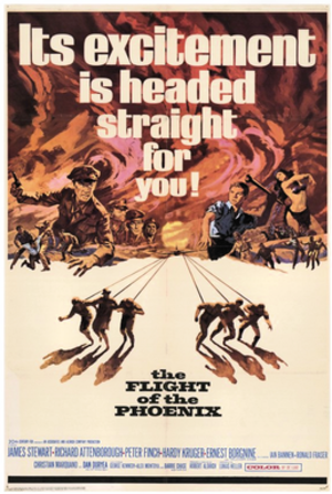 The Flight of the Phoenix (1965 film) - 1965 theatrical release poster