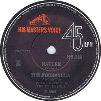 """Nature (song) - Image: The Formyula """"Nature"""" single"""